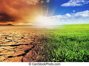 סביבה, להשתנות