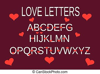 סגול, אלפבית, אהוב
