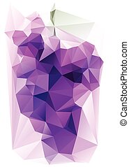 סגול, ענב, triangulated