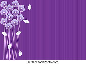 סגול, תקציר, פרחים, רקע