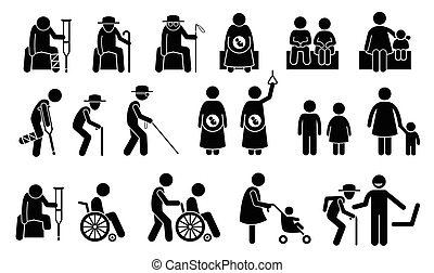 סדר עדיפות, need., מושבים, seatings, אנשים