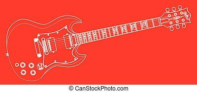 סולידי, גיטרה, תאר