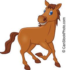 סוס, ציור היתולי