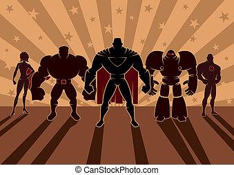 סופרגיבור, התחבר