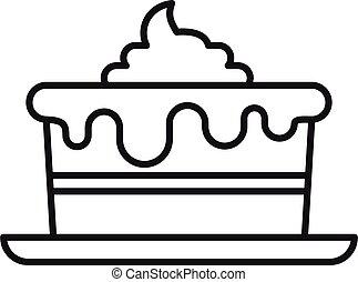 סיגנון, איקון, שרת, יום הולדת, חדר, עוגה, תאר