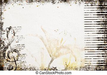 סיגנון ישן, מוסיקה, רקע