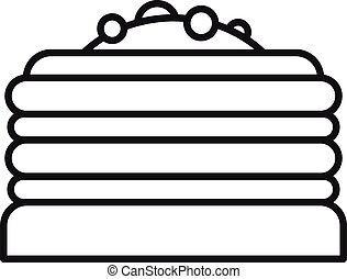 סיגנון, תאר, עוגה, איקון
