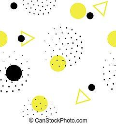 סיגנון, תבנית, seamless, 80s, גיאומטרי, ממפיס, ראטרו