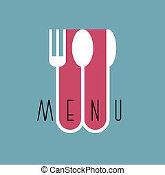 סיגנון, תפריט של מסעדה, -, ווריאציה, 3, עצב, אופנתי, מינימלי