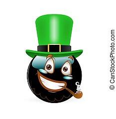 סיגר, כובע, סמילאי, שמח