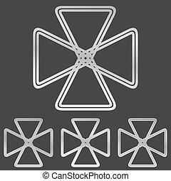 סידרה מעצבת, לוגו, קו, כסף, ענוב