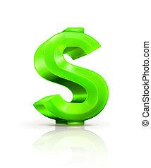 סימן של דולר ירוק