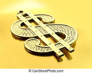 סימן של דולר