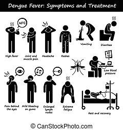 סימפטומים, aedes, dengue, טיפול