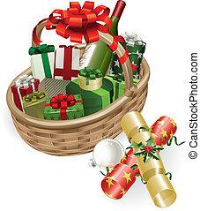 סל, חג המולד, דוגמה