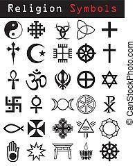 סמלים, דת