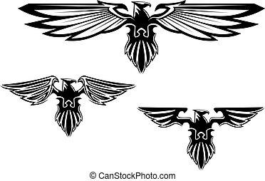 סמלים, האראלדרי, נשר, קיעקוע