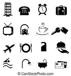 סמלים, מלון, קבע, איקון