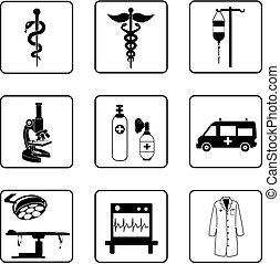 סמלים, רפואי
