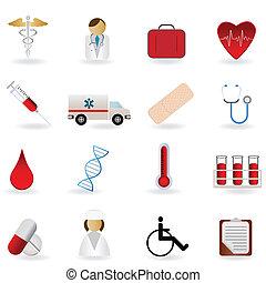 סמלים, רפואי, שירותי בריות
