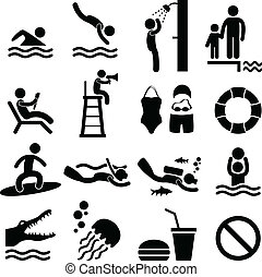 סמל, ים, לשחות, החף, צרף, איקון