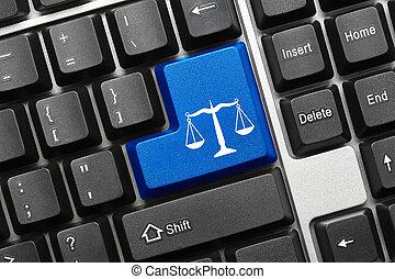 סמל, -, key), מקלדת, קונצפטואלי, (blue, חוק