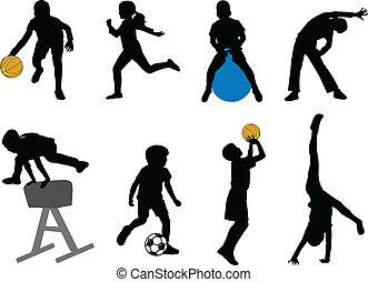 ספורט, ילדים