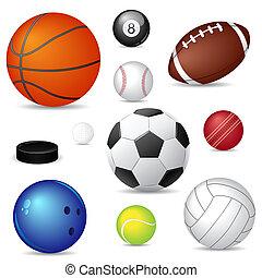 ספורט, כדורים