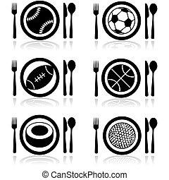 ספורט, רעב