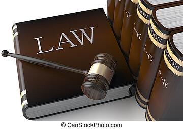 ספרים, חוק, שיט, עור