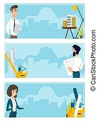 עבודה, דוגמות, קבע, אדריכלים