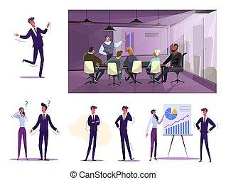 עבודה, קבע, עסק של אנשים