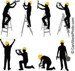 עובדים, בניה