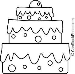 עוגה, איקון, סיגנון, כאלאבראטורי, תאר