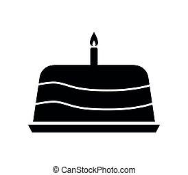 עוגה, איקון