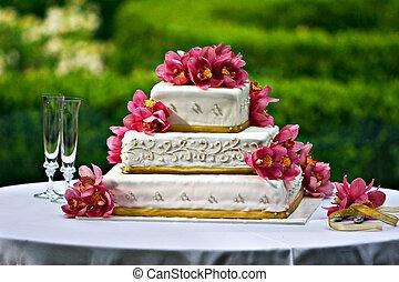 עוגה, חתונה