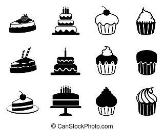 עוגה, קבע, איקונים