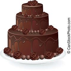 עוגה של שוקולד