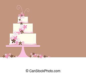 עוגה, תקציר, חתונה
