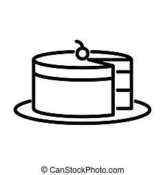עוגה, msidiqf, -, תאר, איקון