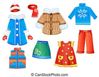 עונתי, קבע, ילדות, בגדים