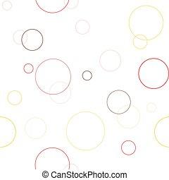 עיגולים, תבנית, גיאומטרי, seamless, טקסטורה
