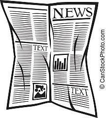 עיתון, וקטור, איקון