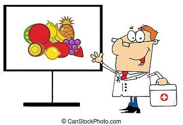עלה, רופא, סוגי אוכל, מועיל, מראה