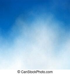 ענן של שמיים כחולים