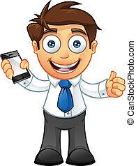 עסק, -, , בהונות, mobil, איש