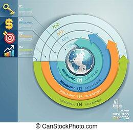 עסק, חץ, infographics