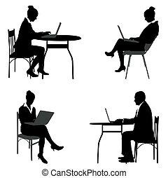 עסק, לעבוד אנשים