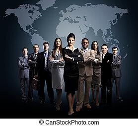 עסק של אנשים, התחבר