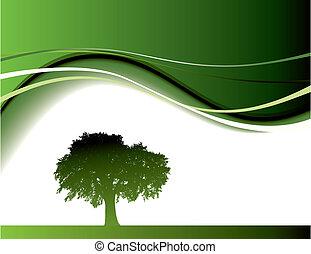 עץ ירוק, רקע